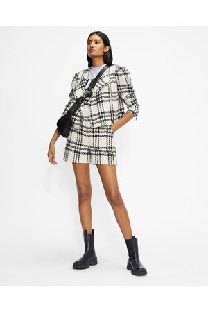 Ted Baker Women Shorts - Cropped Jacket With Exaggerated Shoulder