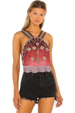 Free People Women Halterneck Tops - Hi There Halter Top in . Size XS, S, M, XL.
