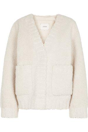 Dorothee Schumacher Twist On faux shearling jacket