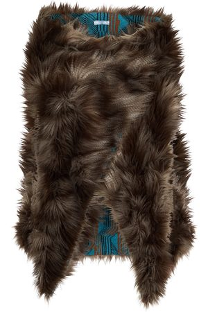 Prada Faux fur shawl