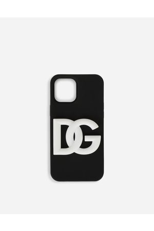 Dolce & Gabbana Technology - Rubber iPhone 12 Pro cover with DG logo male OneSize