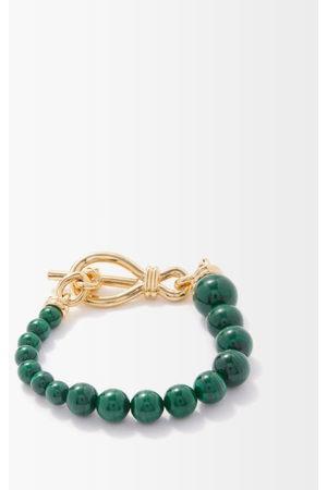 Missoma Malachite & 18kt -plated Bracelet - Womens