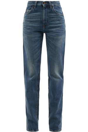 Saint Laurent 60s High-rise Straight-leg Jeans - Womens - Denim
