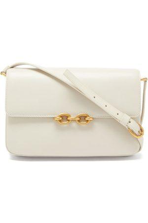 Saint Laurent Women Handbags - Le Maillon Medium Leather Shoulder Bag - Womens