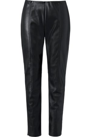 Emilia Lay Women Trousers - Faux leather trousers size: 14