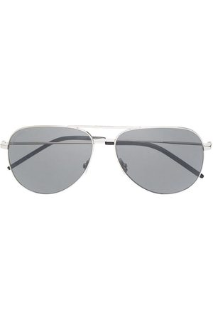 Saint Laurent Men Sunglasses - Aviator-frame sunglasses