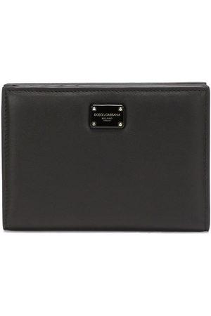 Dolce & Gabbana Calf leather logo-plaque wallet