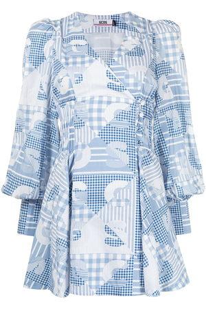 GCDS Patchwork summer dress