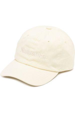 Nanushka Logo embroidered cap