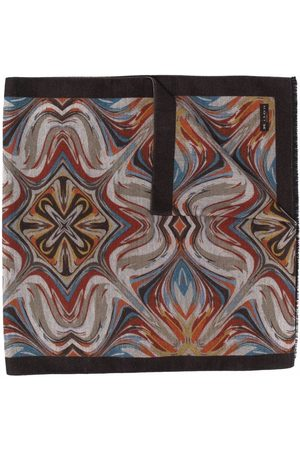 Kiton All-over print scarf