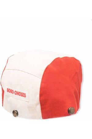 Bobo Choses Face-embroidered cotton hat - Neutrals