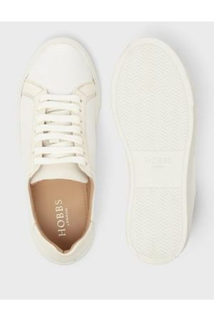 Hobb's Women Trainers - M&S Womens Lace Up Leather Trainers - 37
