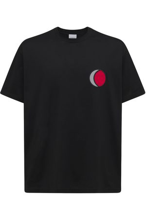 Burberry Ying Yang Print Cotton Jersey T-shirt
