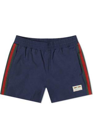 Gucci Men Swim Shorts - Logo Swim Short