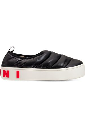 MARNI Nylon Slip-on Low Sneakers