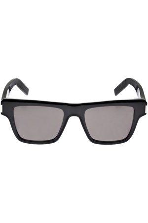 SAINT LAURENT Sl 469 Squared Acetate Sunglasses