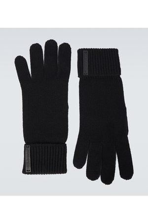 Dolce & Gabbana Knitted wool gloves