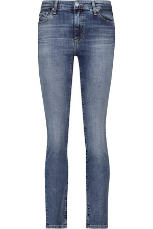 AG Jeans Women High Waisted - Mari high-rise stretch-cotton jeans