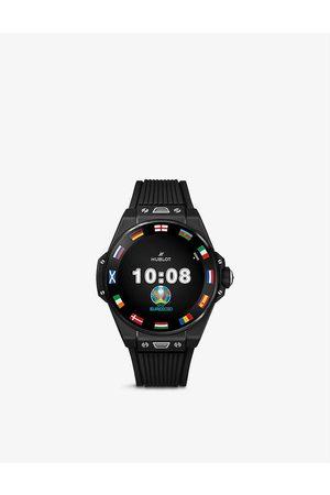 HUBLOT 440.CI.1100.RX.EUR20 Big Bang E ceramic and rubber digital watch