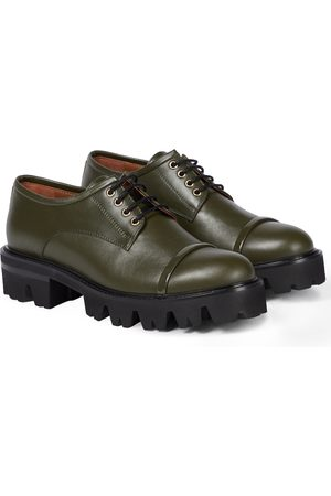 MALONE SOULIERS Byrn leather Derby shoes