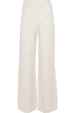 Joseph Tweed high-rise wool-blend pants
