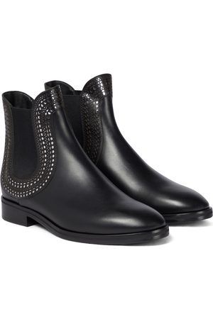Alaïa Women Ankle Boots - Leather ankle boots