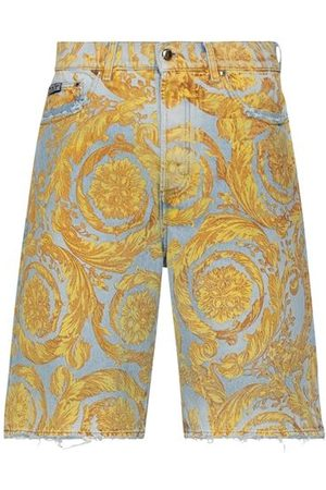 VERSACE Men Shorts - BOTTOMWEAR - Denim shorts