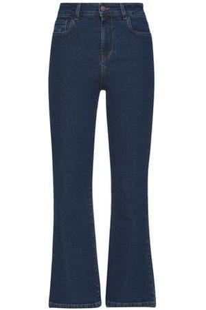 WEILI ZHENG Women Trousers - BOTTOMWEAR - Denim trousers