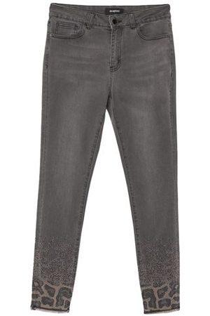 Desigual Women Trousers - BOTTOMWEAR - Denim trousers