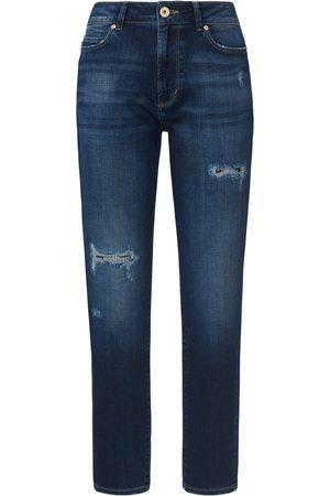 JOOP! Worn look ankle-length jeans denim size: 27