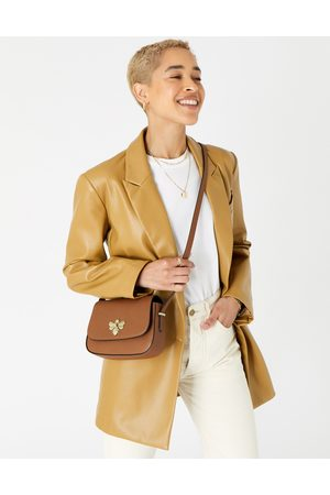 Accessorize Suitcases - Britney Bee Cross-Body Bag Tan