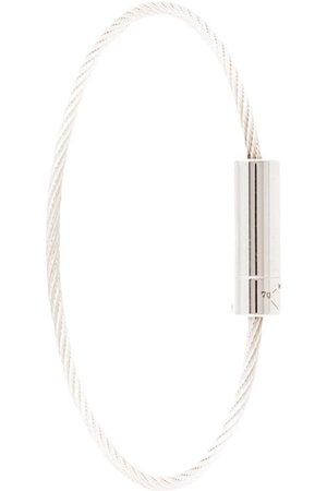 Le Gramme Cable polished-finish bracelet