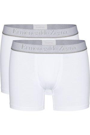 Ermenegildo Zegna Men Boxer Shorts - Logo-waistband set of two boxer shorts