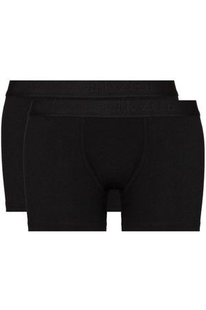Ermenegildo Zegna Logo-waistband set of two boxer shorts