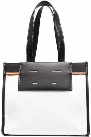 PROENZA SCHOULER WHITE LABEL Large Morris tote bag - OFFWHITE