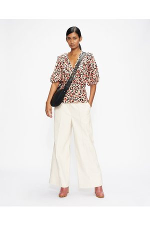 Ted Baker Women Tops - Frill Top With Balloon Sleeve