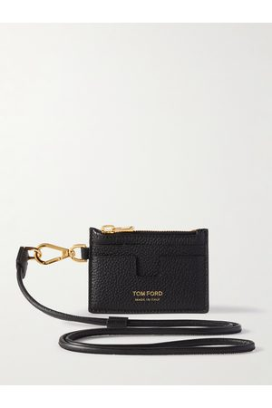 Tom Ford Men Purses & Wallets - Leather Zipped Cardholder with Lanyard