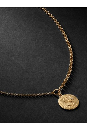 Foundrae Men Necklaces - Karma 18-Karat Diamond Necklace