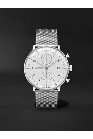 Junghans Men Watches - Max Bill Chronoscope Automatic 40mm Stainless Steel Watch, Ref. No. 027/4003.48