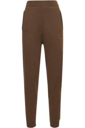 Max Mara Women Formal Trousers - Wool & Cashmere Knit Sweatpants