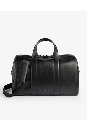 Ted Baker Men Travel & Weekend Bags - Fidick Saffiano leather holdall bag