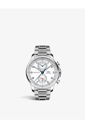 IWC SCHAFFHAUSEN Men Watches - IW390702 Portugieser stainless-steel automatic watch