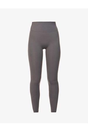 Adanola Ultimate mid-rise stretch-jersey leggings