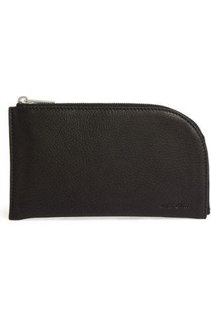 Rick Owens Men Purses & Wallets - Leather Logo Wallet