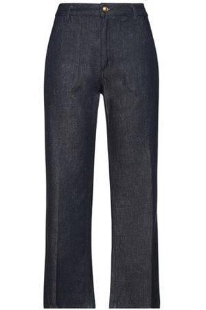 Tory Burch Women Trousers - BOTTOMWEAR - Denim trousers