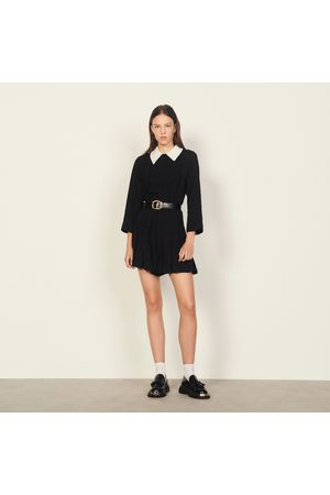 Jumpsuits - Playsuit with shirt collar