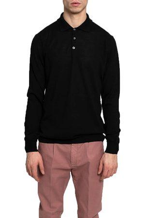 +39 MASQ +39Masq Long Sleeve Polo Shirt
