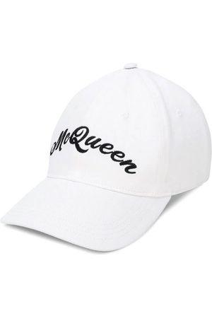 Alexander McQueen Men Hats - Embroidered Logo Baseball Cap