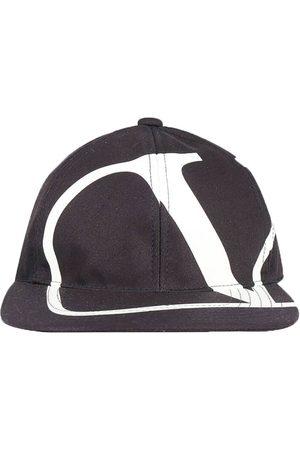 VALENTINO Men Hats - V Logo Baseball Cap