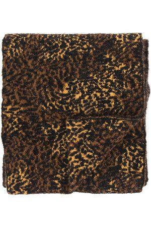 Saint Laurent Leopard-Print Scarf